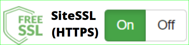 easy to instal on off free ssl certificate